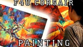 Painting a F4u Corsair