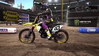 Supercross gameplay 4K 60 FPS  RMZ 450