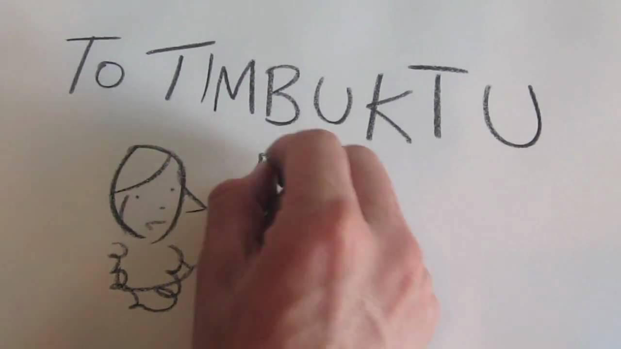 To Timbuktu book trailer HD