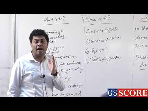 IAS Mains Answer Writing 2: by Suman Sourav Mohanty, IAS Rank 9, CSE 2016