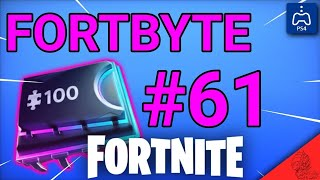 Fortnite: Fortbyte #61 ? Graffiti Solar Bird (How to Get)