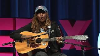 """Landslide"" by Stevie Nicks   Slim Freedom   TEDxChicago"