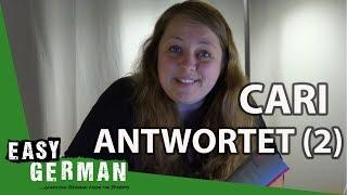 Cari antwortet (2) - Warum Mädchen nicht niedlich sind | Aussprache | Buchverlosung