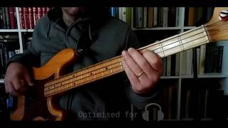 Don't Get Me Wrong - The Pretenders (Bass playalong / cover)