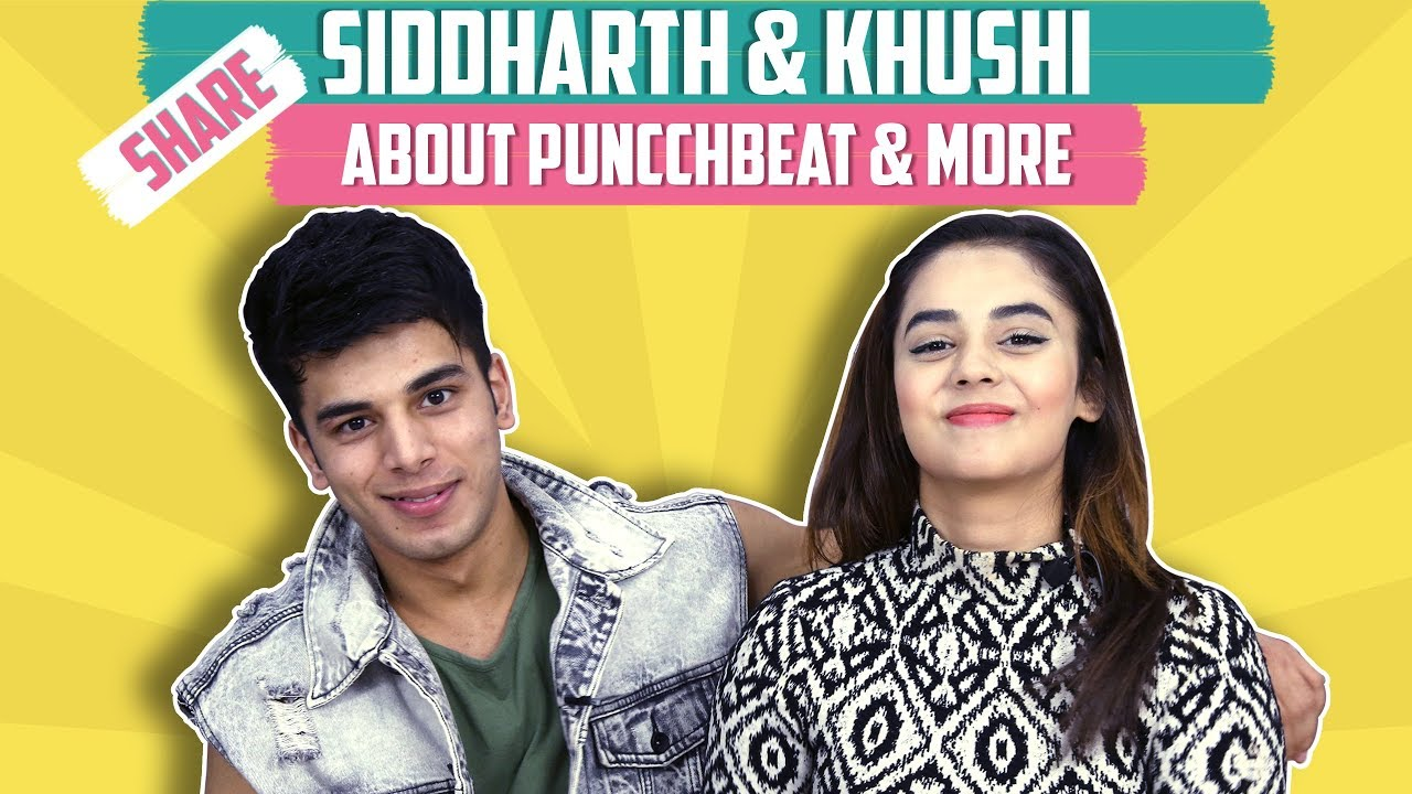 Siddharth Sharma And Khushi Joshi Spill Secrets Out From Puncchbeat's Set | Exclusive