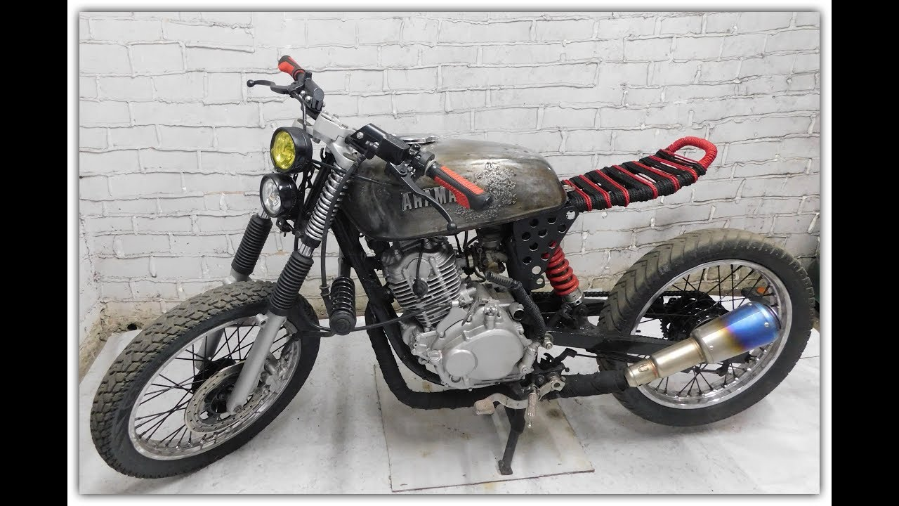 How To Build Rat Rod Type Motorcycle