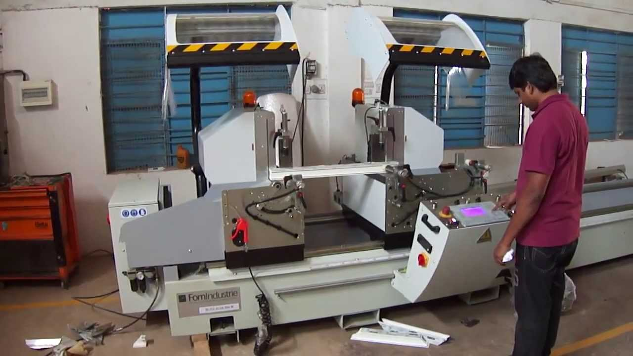 Fom Industrie Double Head Cutting Machine For Aluminium