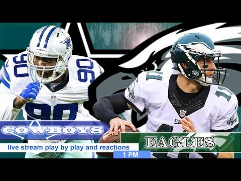 🏈 #Cowboys Vs #Eagles - Live Stream Play By Play And Reaction - 12/22/2019 - 4pm