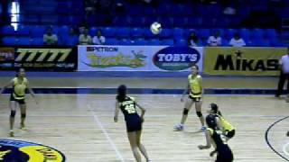 Alyssa Valdez of UST GVT: The future star of UST WVT