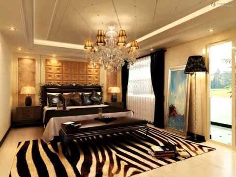 Schlafzimmer Zebra