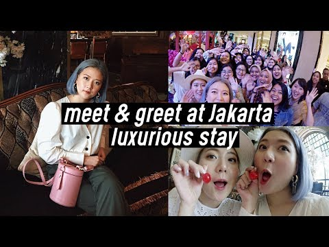 Meet & Greet at Indonesia 🇮🇩❤️, Hair Salon at Jakarta, Luxurious Stay at Hotel Gunawarman | DTV #84