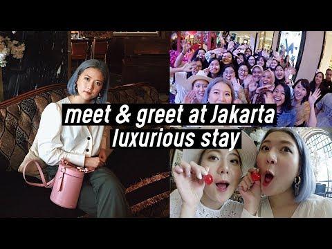 Meet & Greet at Indonesia 🇮🇩❤️, Hair Salon at Jakarta, Luxurious Stay at Hotel Gunawarman   DTV #84