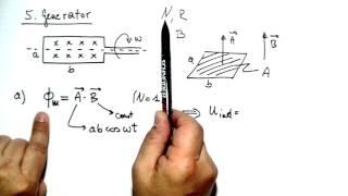 Generator (Wechselstromgenerator) ☆ Beispiel-Aufgabe & Lösung ☆ Physik Lernvideo