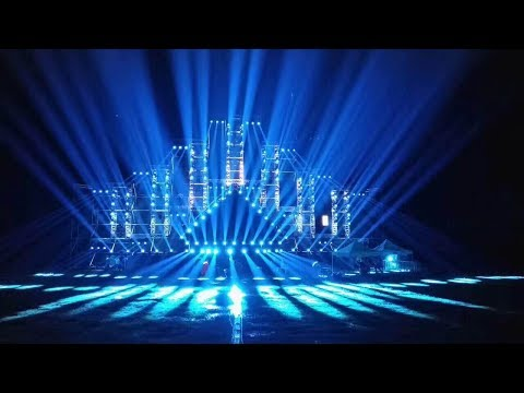 Professional Stage Lighting Show by Hi-Ltte in 2017