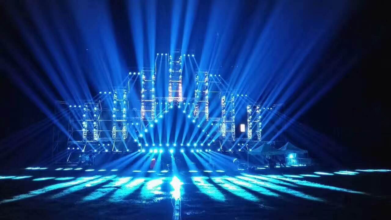 Professional Stage Lighting Show By Hi Ltte In 2017