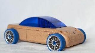 Automoblox S9 Sedan Wooden Car Toys Машинка для детей
