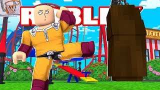 SIMULADOR DO SAITAMA - Roblox Super Power Training Simulator