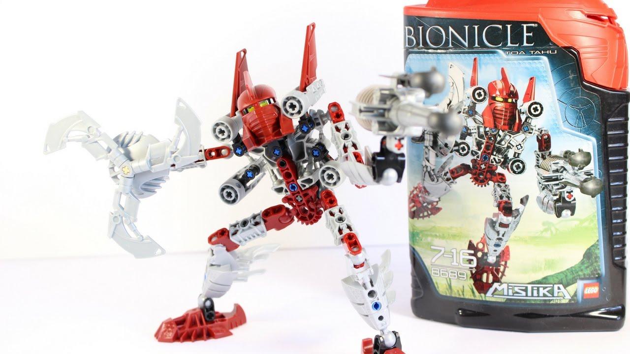 Lego Bionicle Lets Build Toa Tahu (Mistika) 8689 - YouTube  Lego Bionicle L...
