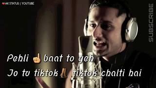 High heels 👠 honey Singh rap|| whats app status video