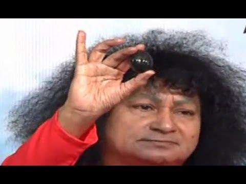 Bala Sai Baba Creats Shiva Lingam on Maha Shivaratri