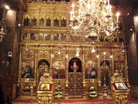 Sfanta Liturghie in Catedrala Patriarhala Bucuresti