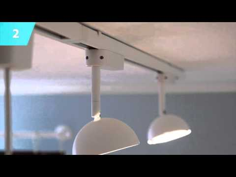 Track Lighting Ideas Ikea Home Tour You