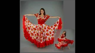 Цыганские костюмы - красиво и доступно каждому