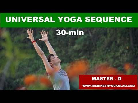 30 min universal yoga sequence, for everyone