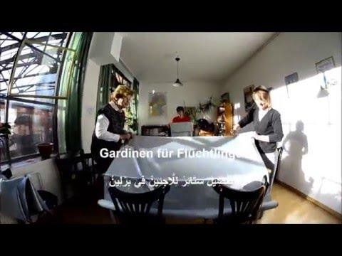 Curtains for Refugees - تَفْصِيلْ سَتَائِرْ لِلَّاجِئِينْ فِي بِرْلِينْ - Gardinen für Flüchtlinge