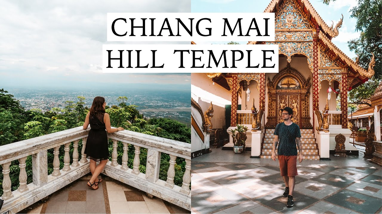 Chiang Mai Temples, Amazing Views and Thai Street Food | Thailand Travel Vlog