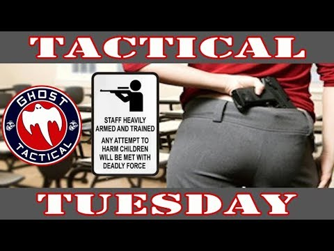 Maryland School Shooting, School Safety, & Active Shooter Tactics:  Tactical Tuesday #33