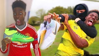 I Took Kids $1000 Football Boots & Gave Him Fake Ronaldo Boots From Amazon