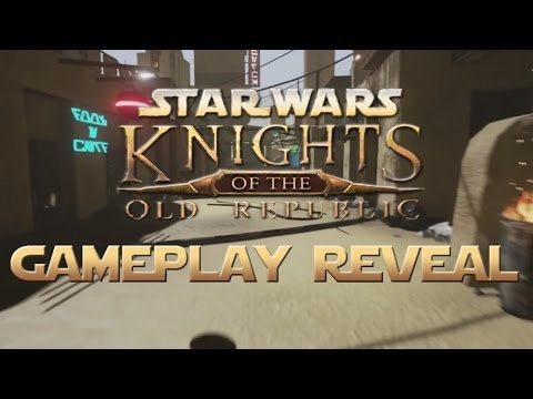 Apeiron's Star Wars: Knights Of The Old Republic GAMEPLAY REVEAL – First Ever In-Game Footage!