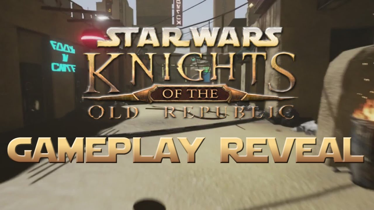 Oh Wow, This Footage of the HD Star Wars: KOTOR Reboot is