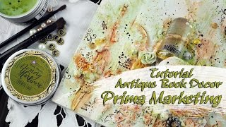 Antique Book Decor - for Prima Marketing(Subscribe - https://www.youtube.com/c/nastyaistorkina Thank you for watching! If you like this video, please please give it a thumbs up, comment or share it with ..., 2017-03-01T08:31:27.000Z)