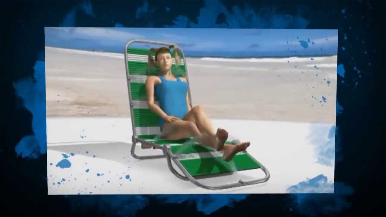 Modern Lounge Chair Furniture Spray Lounge Tanning System Chairs Aqua Spray  Outdoor Furniture   YouTube