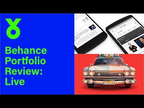 Behance Portfolio Review: Live