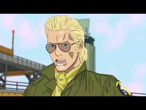Metal Gear Solid Peace Walker Animation - Tank Box