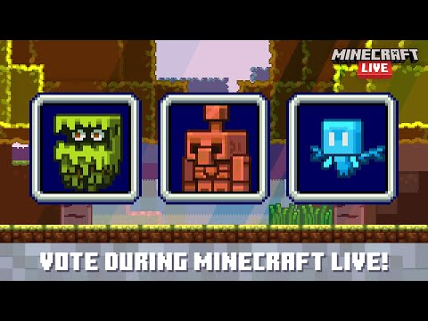 Minecraft Live 2021: Vote for the next new mob!