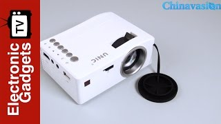 UNIC UC18 Mini LCD Projector is Available in Chinavasion Now!