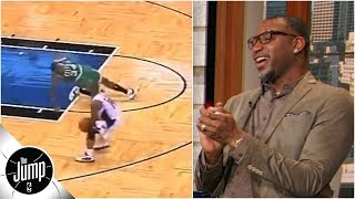Download Tracy McGrady convinces producers to show video of Paul Pierce getting ankles broken | The Jump Mp3 and Videos
