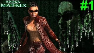 Enter The Matrix PS2 Gameplay #1 [I Know Kung FU!]