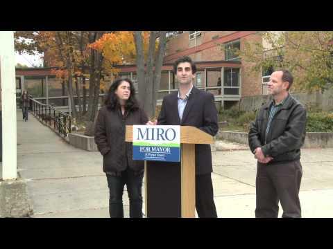 Miro on Bringing the Mayor
