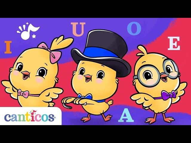 NEW EPISODE Canticos   Abracadabra   Learn the Vowels!   Canción de las vocales NUEVO EPISODIO
