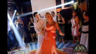AIMA Produções - Dança da aniversariante Cristina Espasandim com a sua família - Festa Anos 60