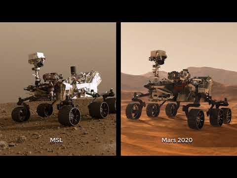 NASA Begins Building Next Mars Rover Mission