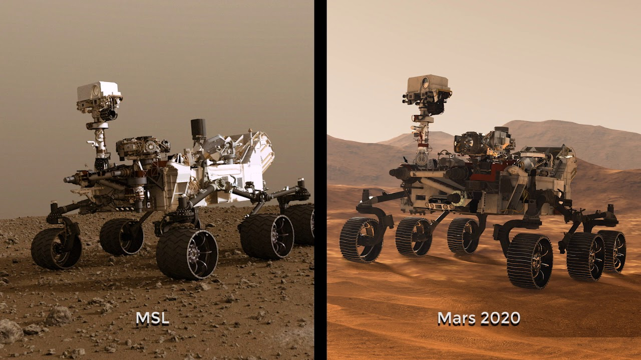 NASA Begins Building Next Mars Rover Mission YouTube