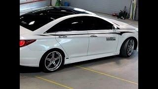 Тюнинг хендай солярис Декор наклейки, кузова автомобиля стикер для Hyundai Solaris Cruze Ford смотреть