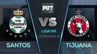 Santos 1-1 Xolos | J6 - Clausura 2019 - Resumen
