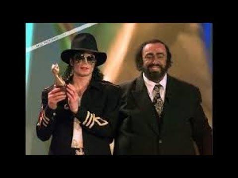 Luciano Pavarotti y El Rey del Pop - Moonwalkers (Leer Descripcion)